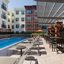 3350 at Alterra pool deck with lounge seating