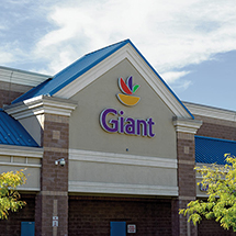 Giant grocery store in Hyattsville, MD near 3350 at Alterra