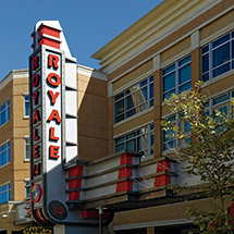 Royale Movie Theater sign