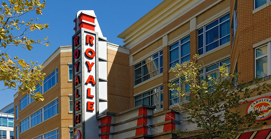Regal Hyattsville Royale Theater near 3350 at Alterra apartments
